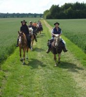 Bild zu *** Die Keltenspur II im Ries - Reise zu Pferd in die Bronzezeit